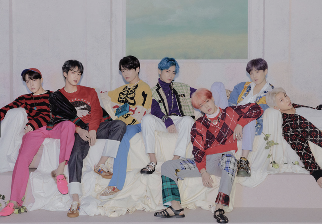 BTS Map of the Soul Persona concept image 4