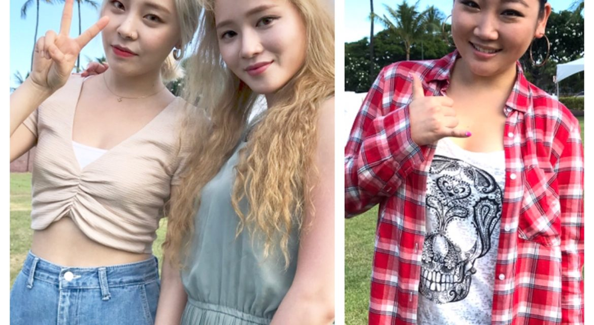 Korean Festival welcomed Ladies Code and eSNa